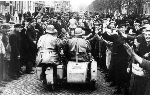 Дочек Нијемцима у Загребу, 1941.